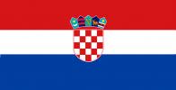 Kroatien-Flagge