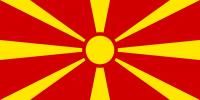Nordmazedonien-Flagge